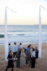 canapes on culburra beach