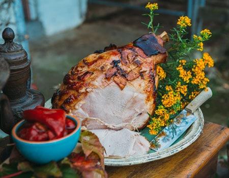 Garnish Creative Catering Shared Banquet Menu